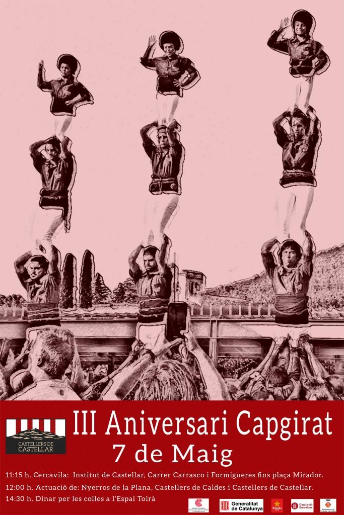III Aniversari de la colla @ Plaça del mirador | Castellar del Vallès | Espanya
