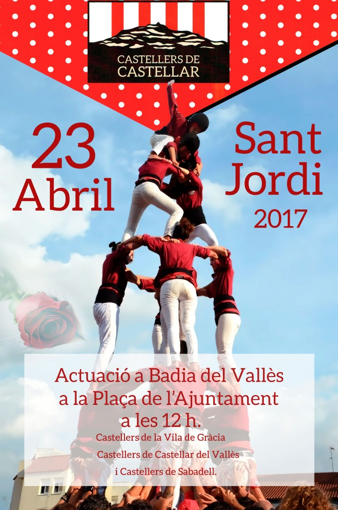 Diada castellera de Sant Jordi